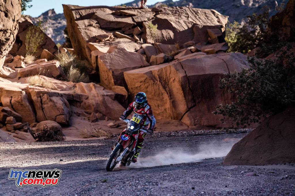 Dakar 2017 - Stage 10 - Joan Barreda