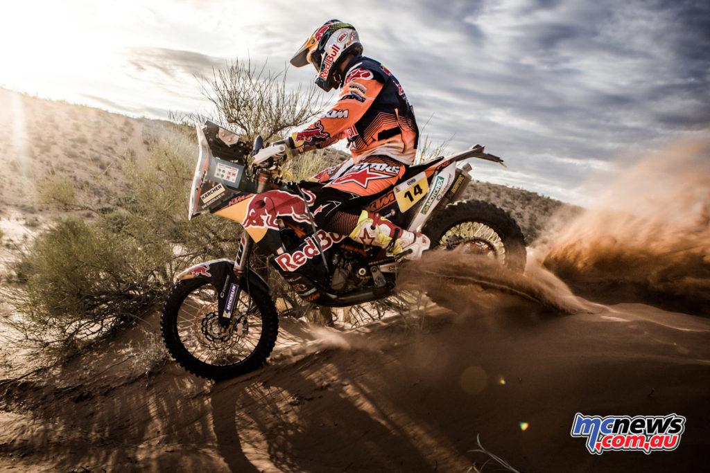 2017 Dakar Rally - Sam Sunderland - Image: Marcin Kin