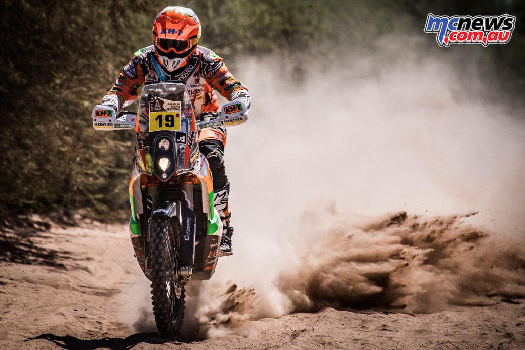 Dakar 2017 - Laia Sanz