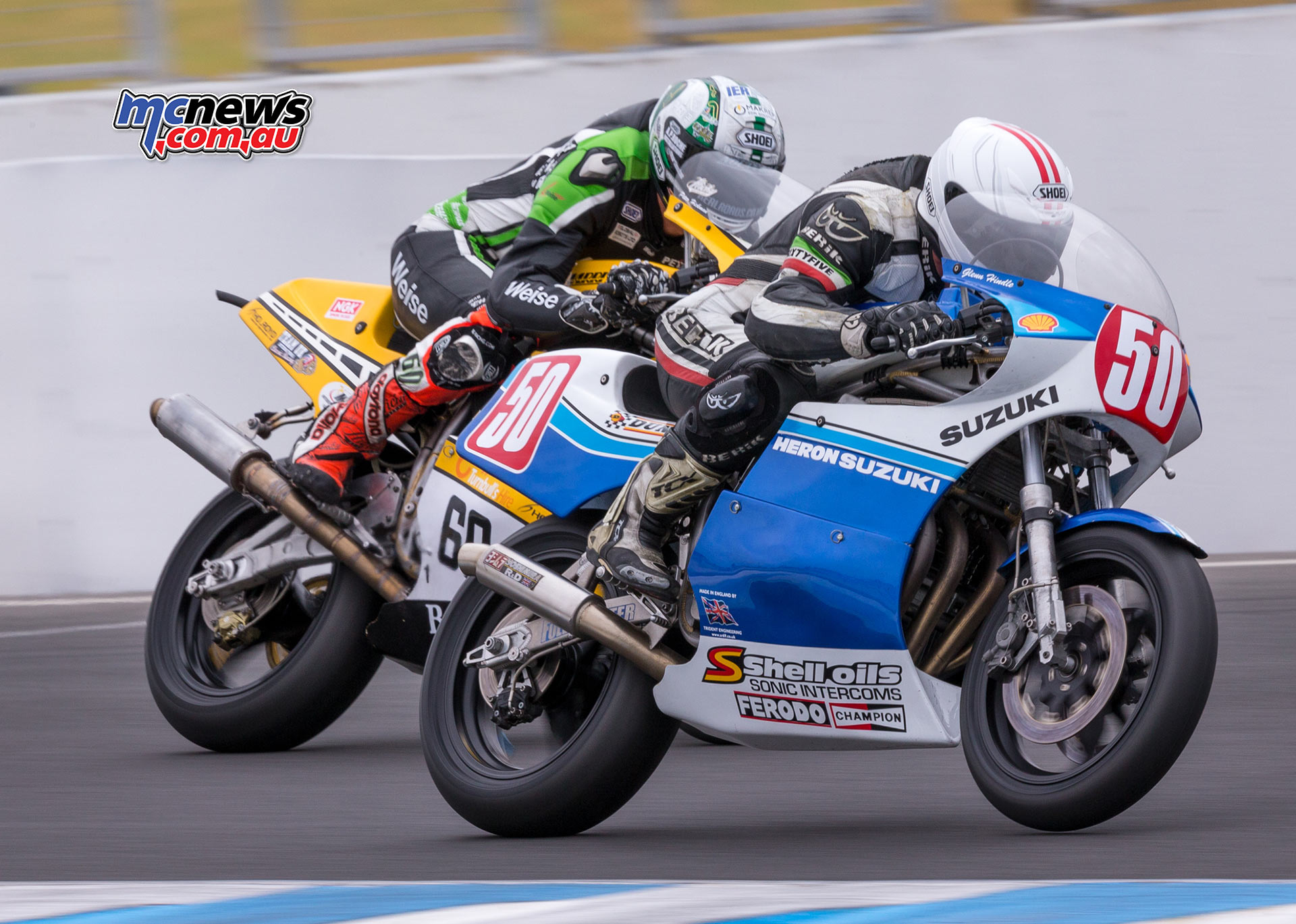 Island Classic 2017 - Image by Andrew Gosling - Glenn Hindle and Peter Hickman