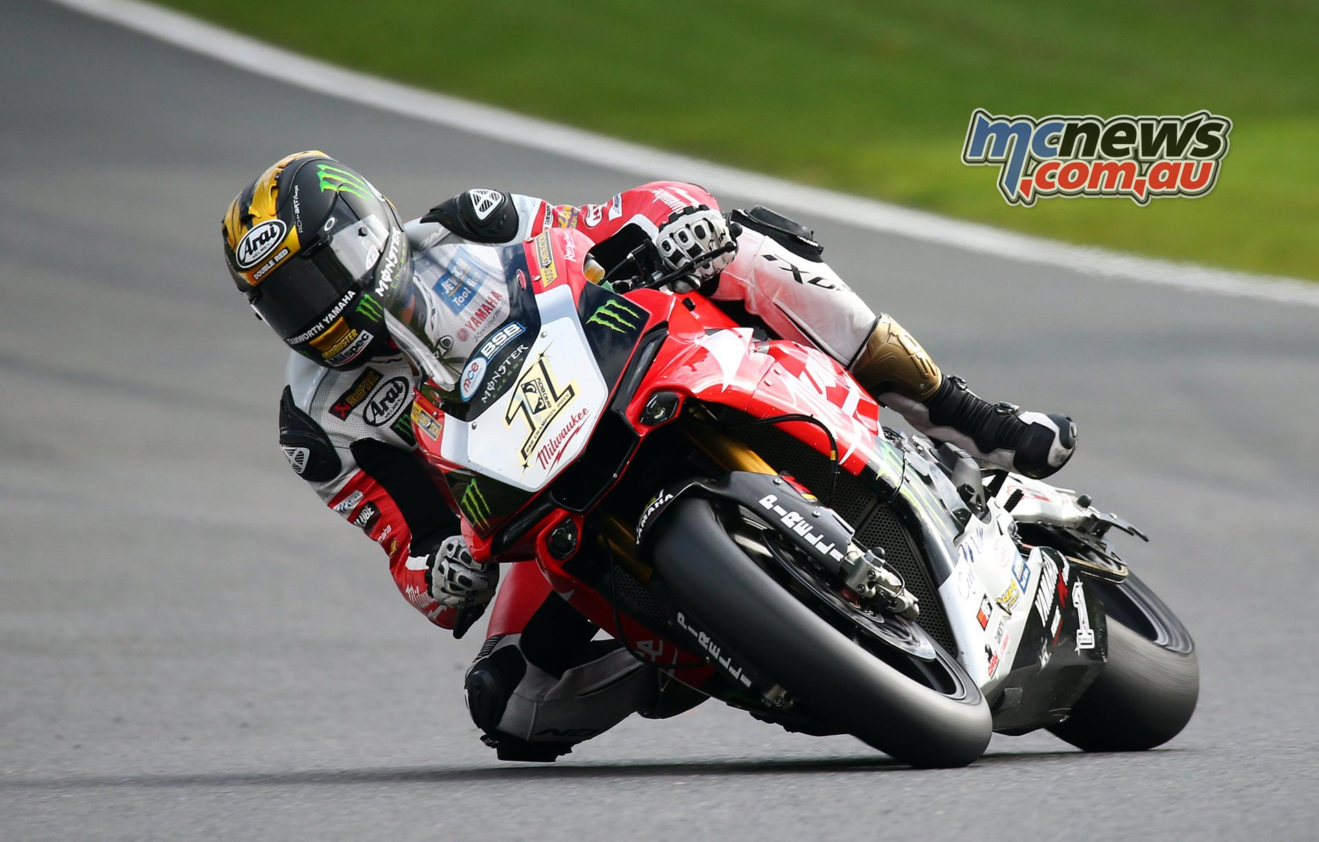 Josh Brookes after winning the 2015 British Superbike Championship