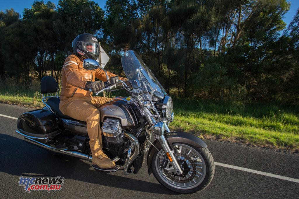 Moto Guzzi California Touring - Image by Andrew Gosling