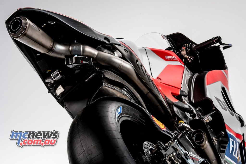 Here Comes George Jetson Jet Syle Exhaust For Ducati Motorcycle News Sport And Reviews