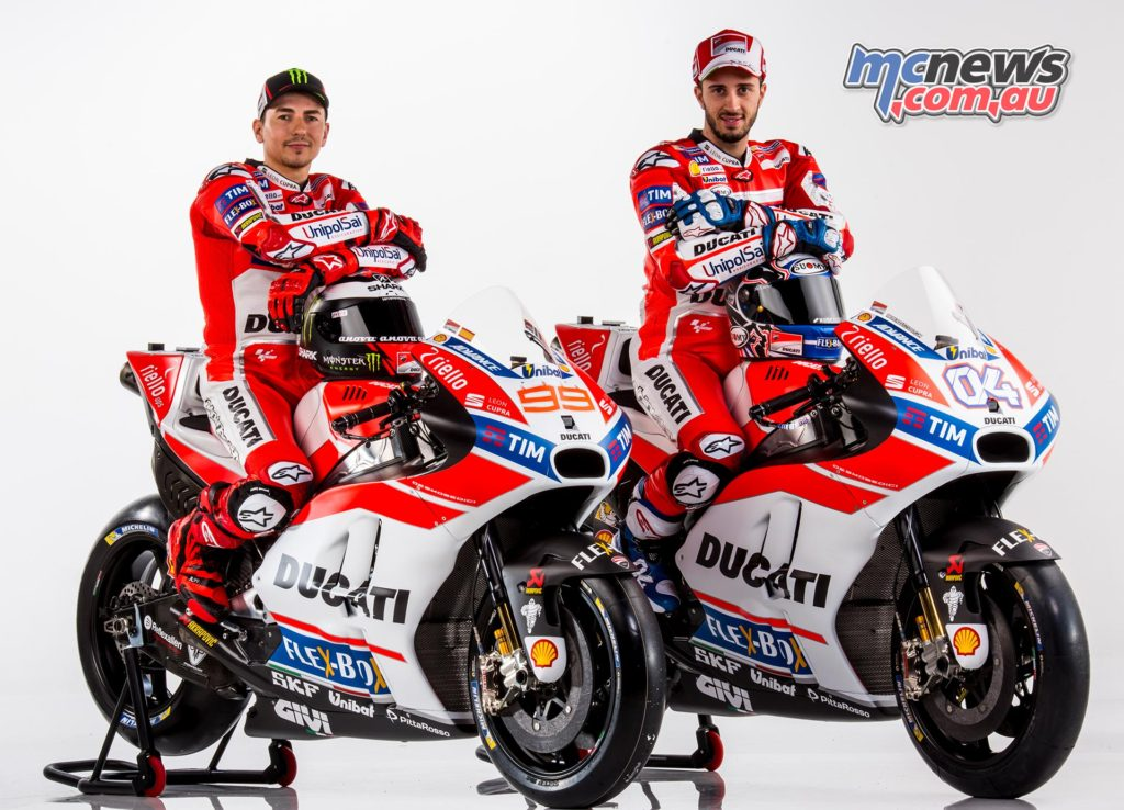 2017 Ducati Motogp Team Launch Lorenzo In Ducati Livery Mcnews
