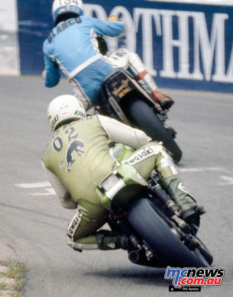 1980 Coca Cola 800 - Kawasaki Z1000SR - ridden by Greg Hansford and Jim Budd