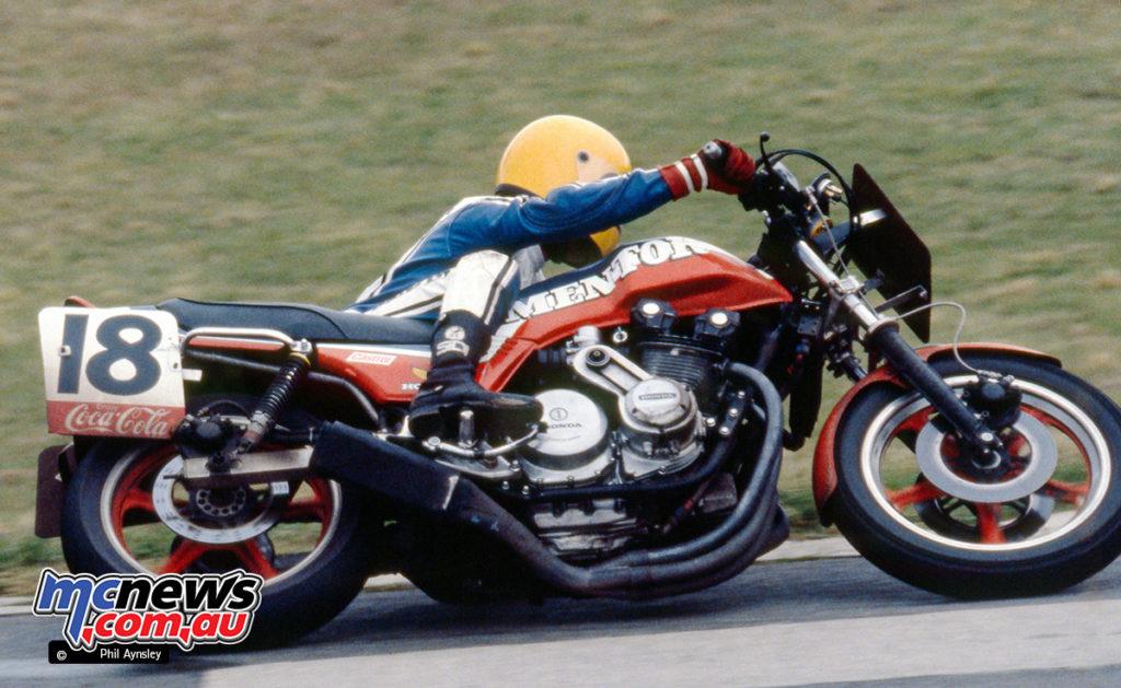 1980 Coca Cola 800 - Mentor Motorcycles/Peter Molloy Honda