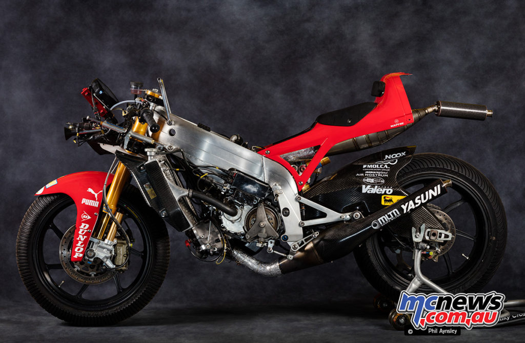 2009 Aprilia RSA 250 - Ridden by Mike Di Meglio of the Mapfre Aspar Team - the RSA also delivered 110hp