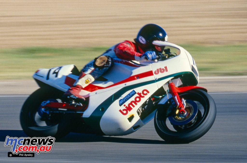 Bathurst 1986 - Chris Oldfield on the Gowanloch Bimota DB1
