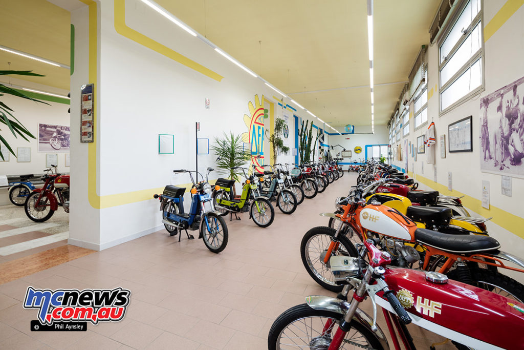 The Museum of Motorcycles and Mopeds DEMM
