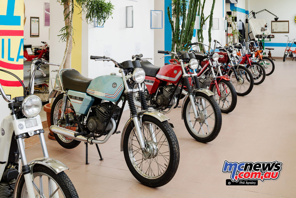 The Museum of Motorcycles and Mopeds DEMM - with quirky names like Condor and Panther