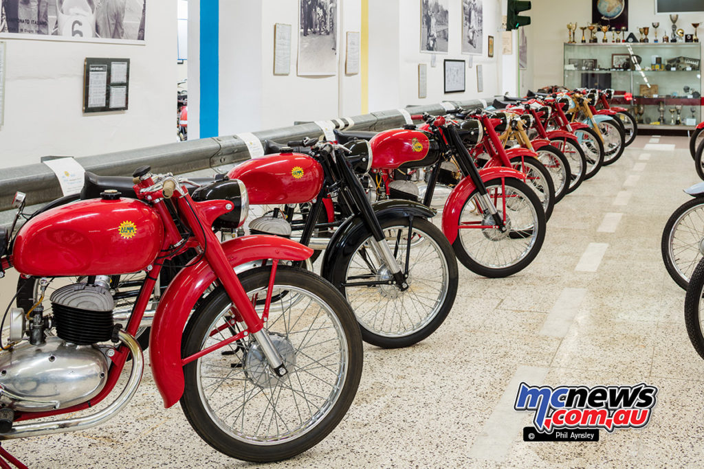 The Museum of Motorcycles and Mopeds DEMM - DEMM also produced two and four-stroke 175cc machines
