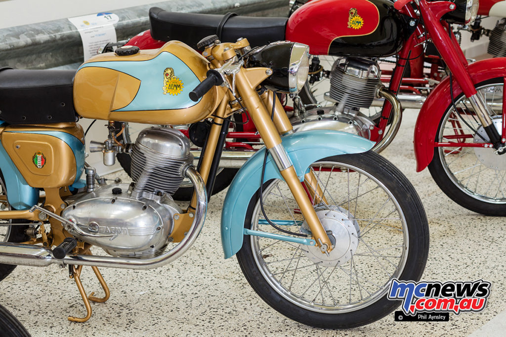The Museum of Motorcycles and Mopeds DEMM - The 175cc OHC single
