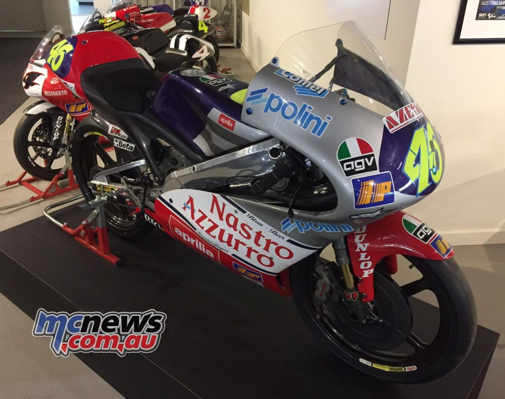 The 1997 Aprilia RS125 - From Valentino Rossi's first season in Grand Prix racing