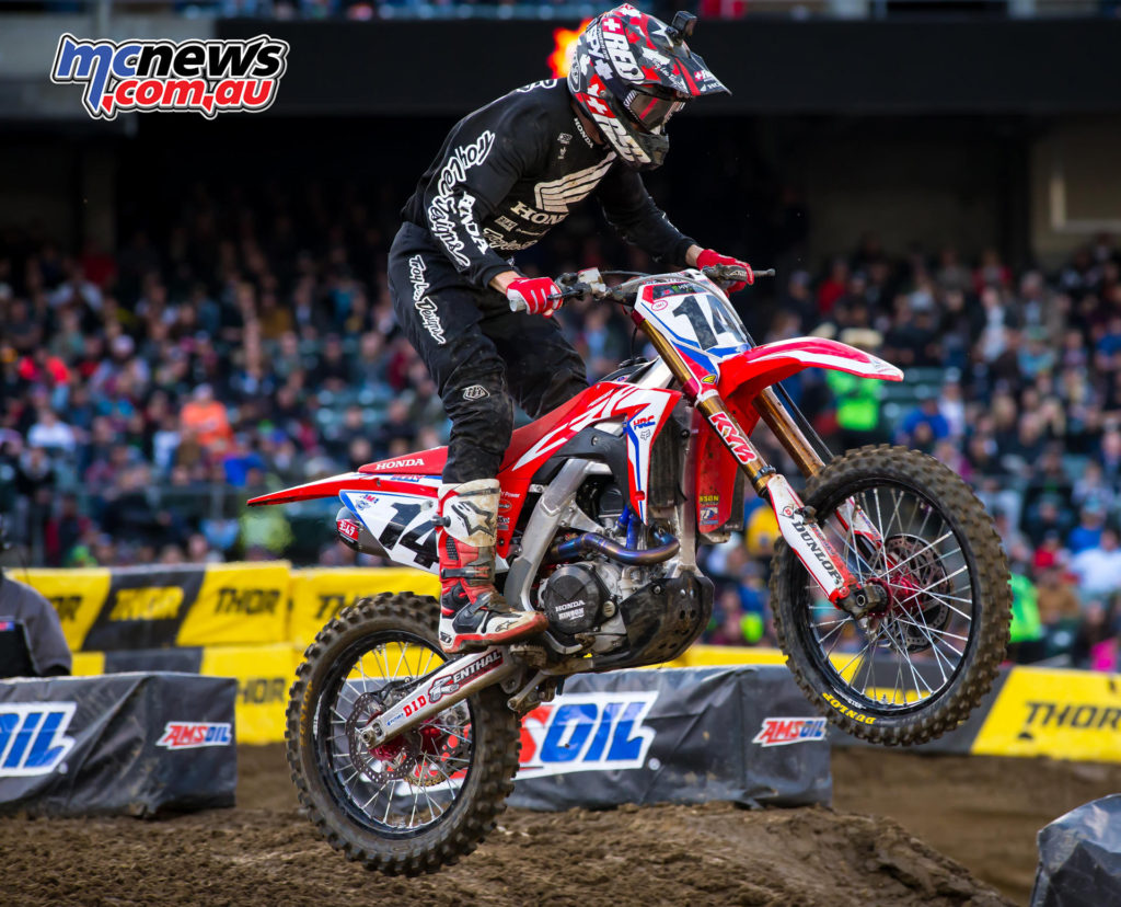 2017 AMA Supercross Round 5 - Cole Seely