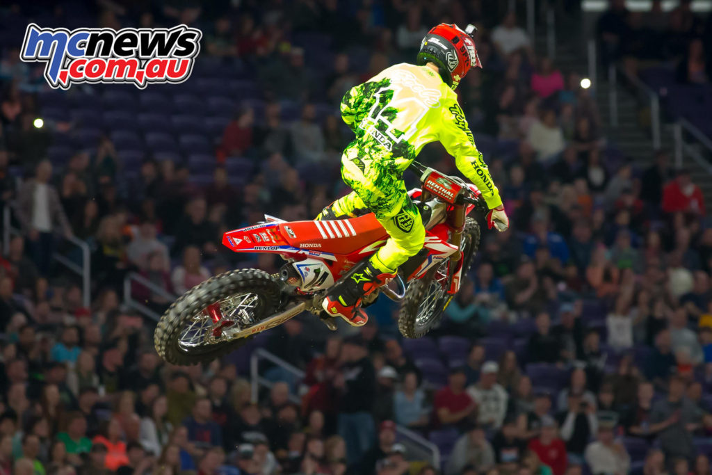 2017 AMA SX - Round 6 Minneapolis - Cole Seely
