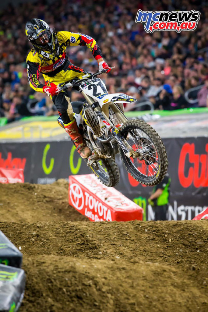 2017 AMA SX - Round 6 Minneapolis - Jason Anderson - Image: Simon Cudby