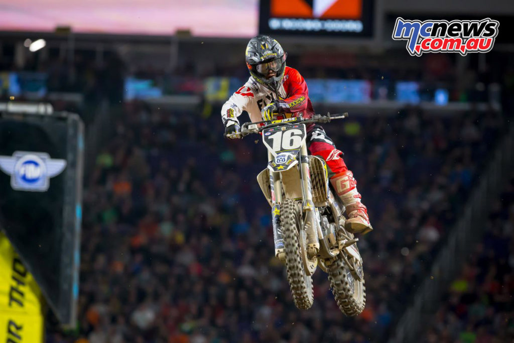 2017 AMA SX - Round 6 Minneapolis - Zach Osborne - Image: Simon Cudby