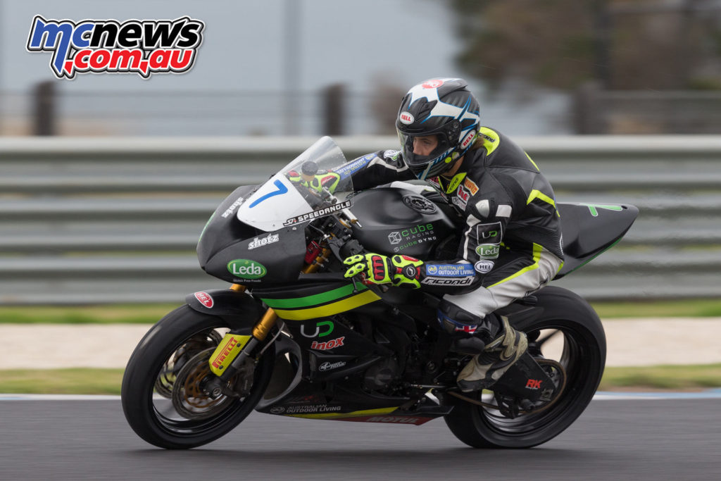 2017 ASBK Test - Phillip Island, January - Tom Toparis Image: Andrew Gosling
