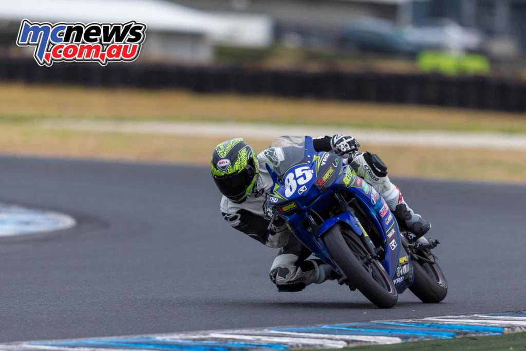 2017 ASBK Test - Phillip Island, January - Ty Lynch Image: Andrew Gosling