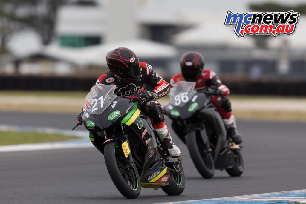 2017 ASBK Test - Phillip Island, January - Troy and Oli Bayliss Image: Andrew Gosling