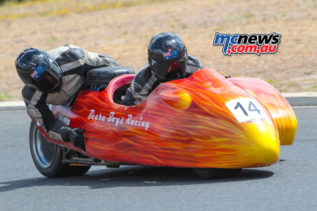 2017 Hartwell Championship - Rnd 1 - Sidecars - Declan and Noel Beare make a return - Image: Cameron White