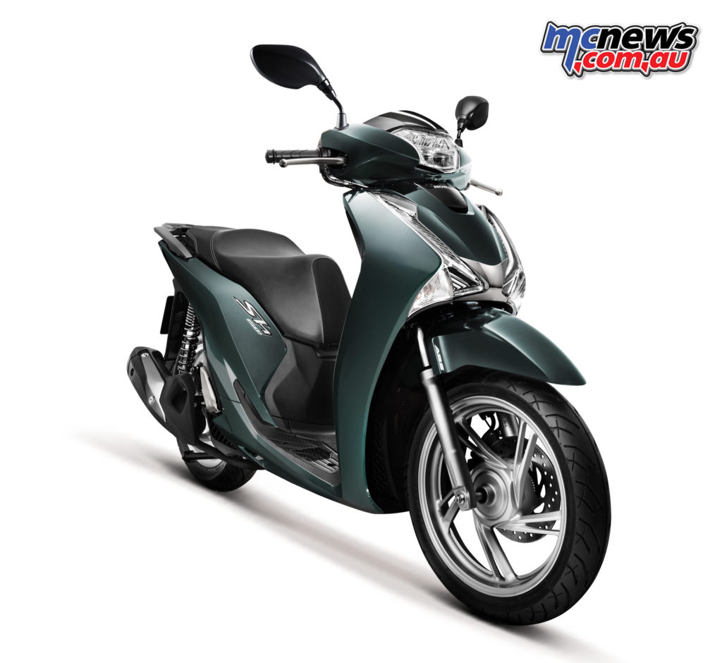 2017 Honda SH150 scooter