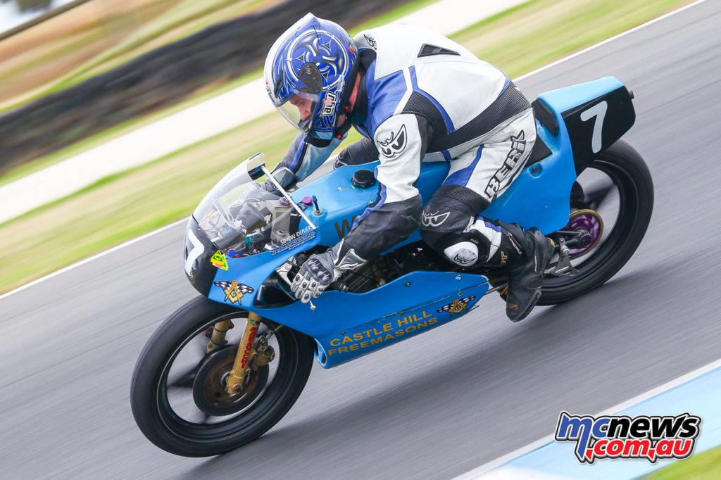 2017 Island Classic - 125cc Forgotten Era - Simon Oliver - Image: Cameron White