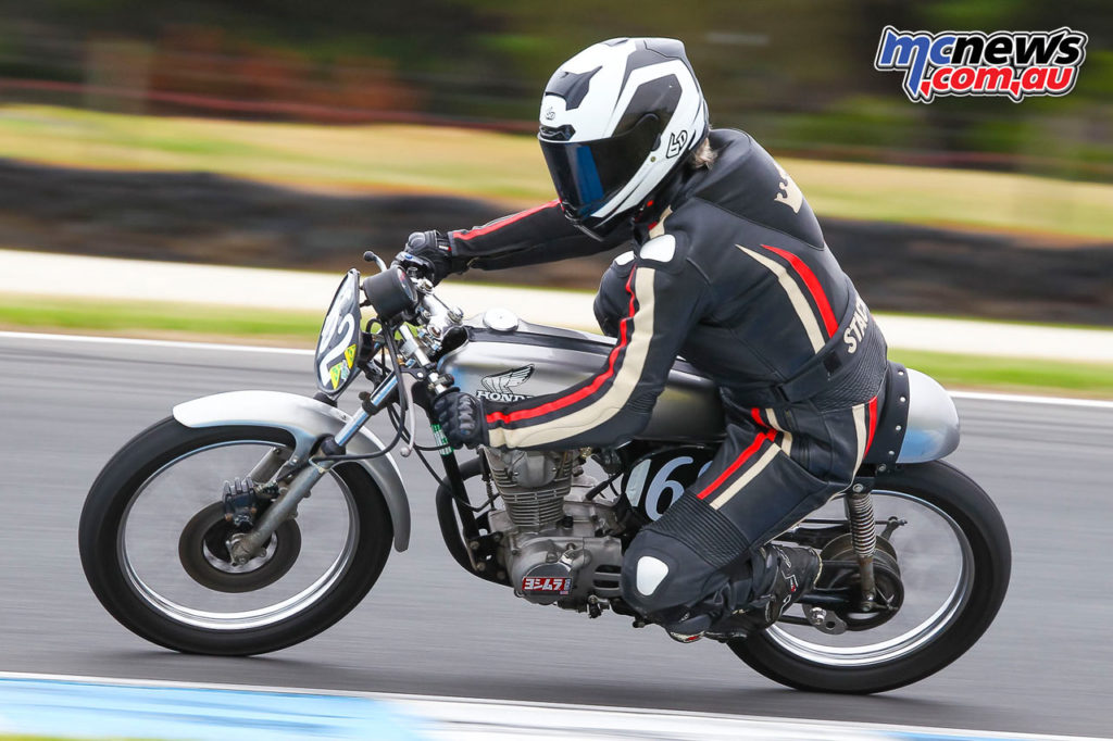 2017 Island Classic - 125cc Post-Classic - Stacey Heaney - Image: Cameron White