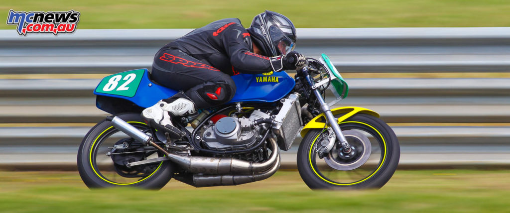 2017 Island Classic - 250cc Forgotten Era - Andy Pittman - Image: Cameron White