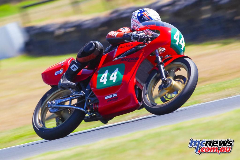 2017 Island Classic - 250cc Forgotten Era - Lachlan Hill - Image: Cameron White