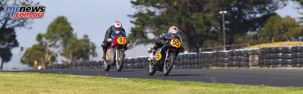 2017 Island Classic - 500cc Classic - Neil May, Bob Rosenthal - Image: Cameron White