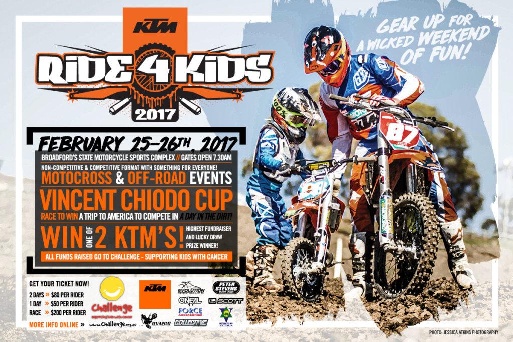 2017 KTM Ride4Kids