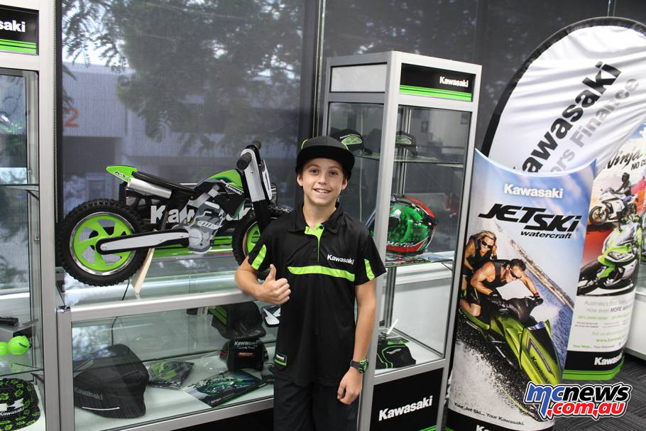 2017 Kawasaki KX Junior Squad - Brad West
