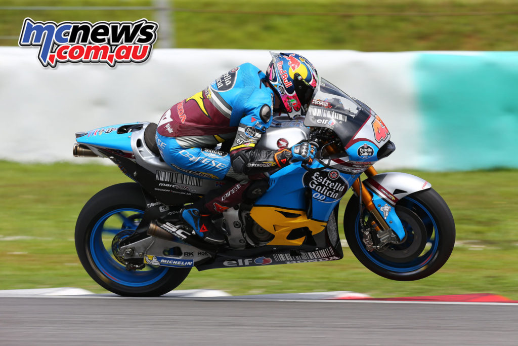 Jack Miller testing in Sepang - Image: Andrew Northcott
