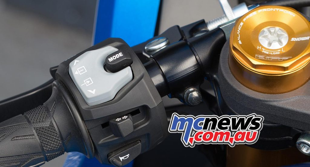 2017 Suzuki GSX-R1000R - Left switchblock, with mode and screen controls