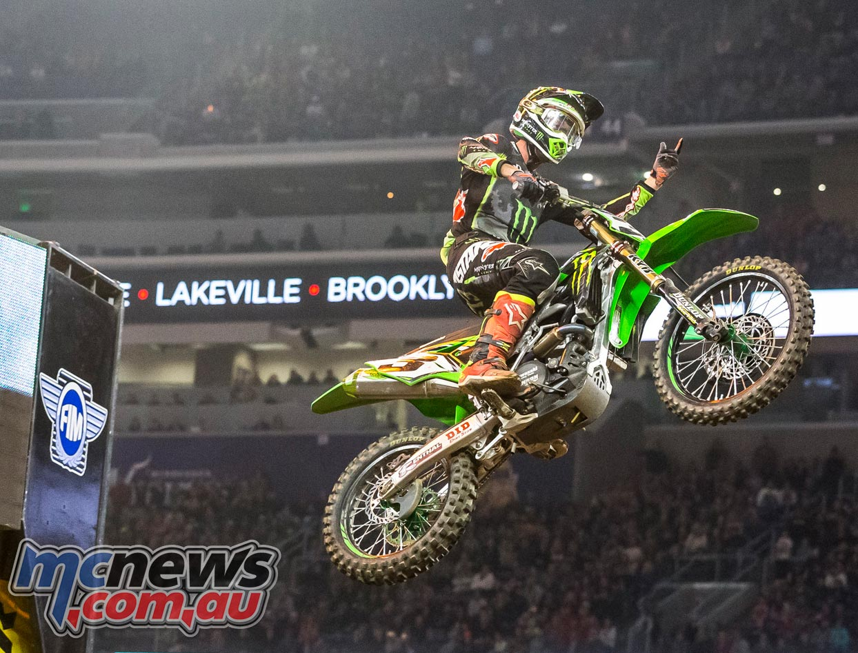 Eli Tomac took his third win in four races