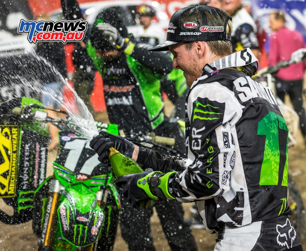 Joey Savatgy took early control of the Eastern Regional standings and holds a three-point lead over Smith