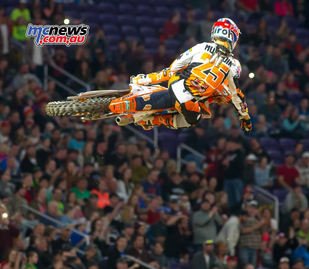 Marvin Musquin followed up last week's win with a runner-up effort