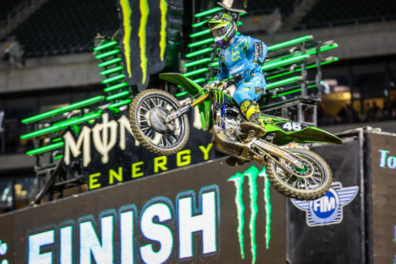 Hill has now won three 250SX Class Main Events in a row. Photo: Feld Entertainment, Inc.