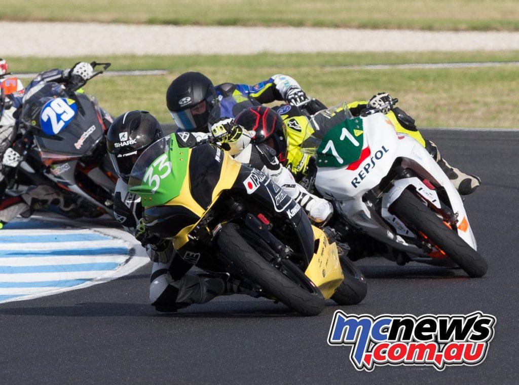 ASBK 2017 - 300 Supersport - Round One - Phillip Island