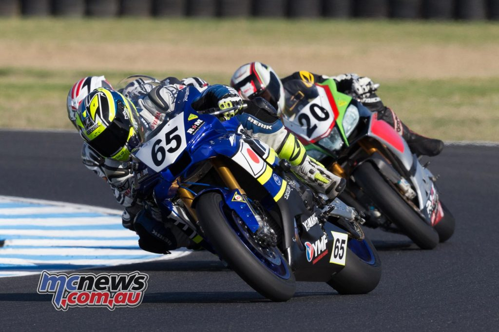 Cru Halliday, Alex Phillis - ASBK 2017 - Round One - Phillip Island - Image by TBG