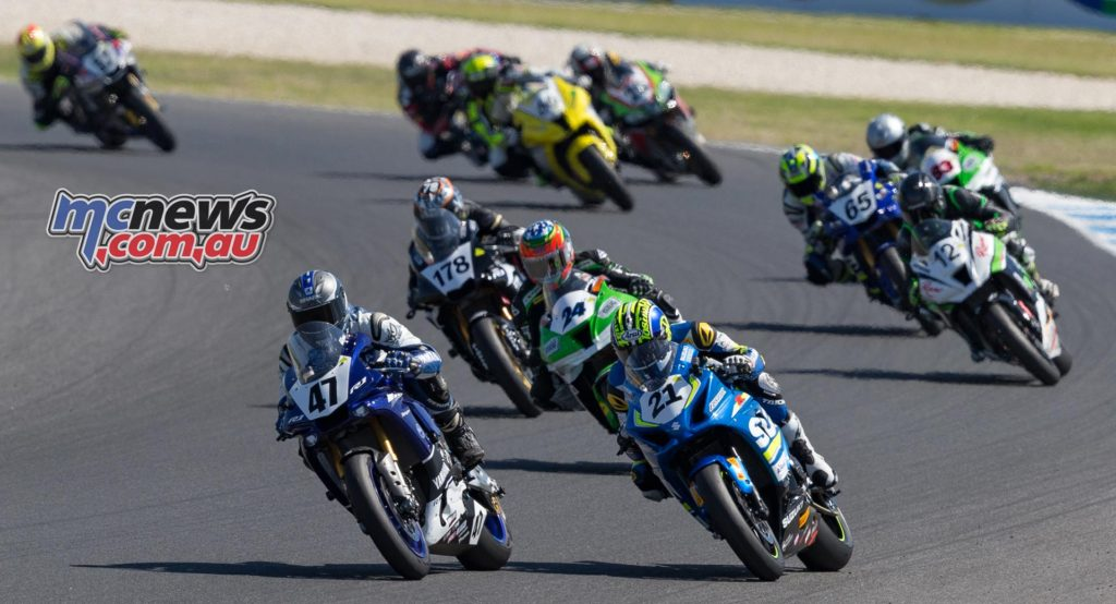ASBK 2017 - Round Two - Phillip Island - Race Two - Image by TBG