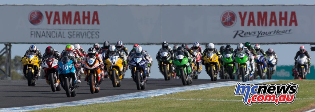 ASBK 2017 - Round One - Phillip Island - Image by TBG - Race Two