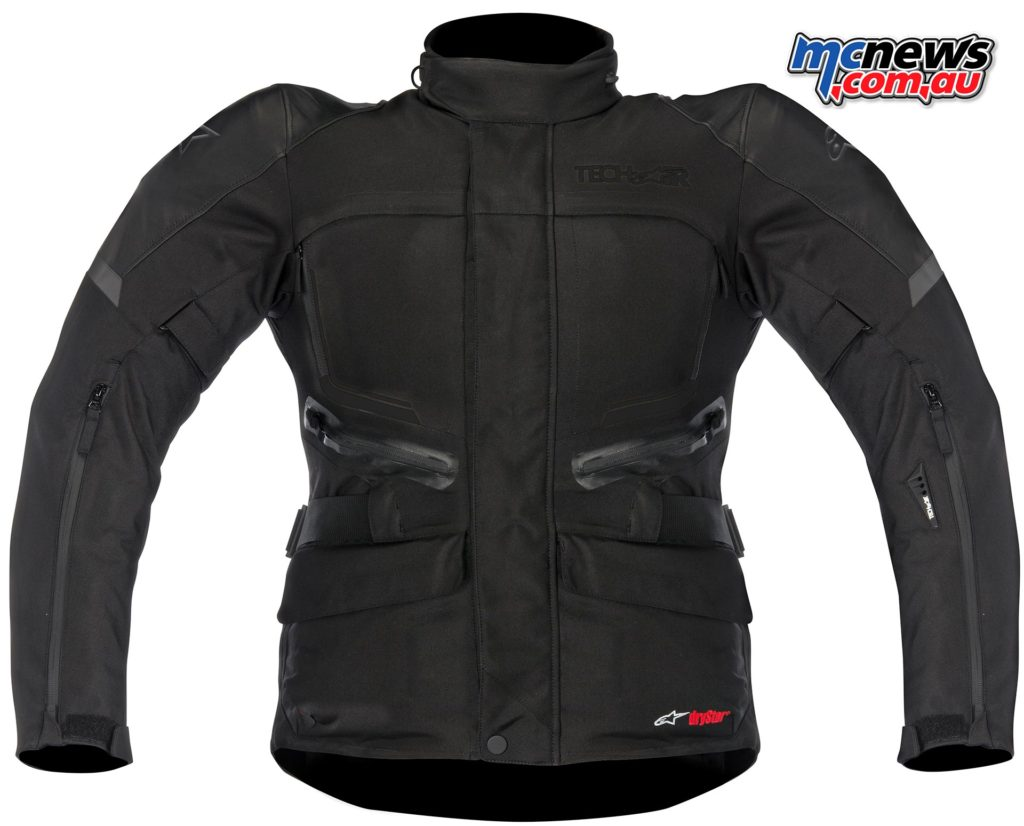 Alpinestars Valpariso Jacket with Tec-Air vest inflated