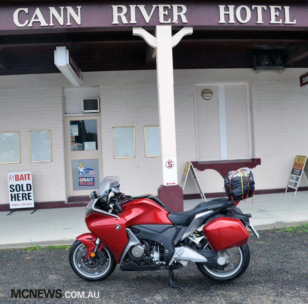 Riding Around Australia - Cann River Hotel