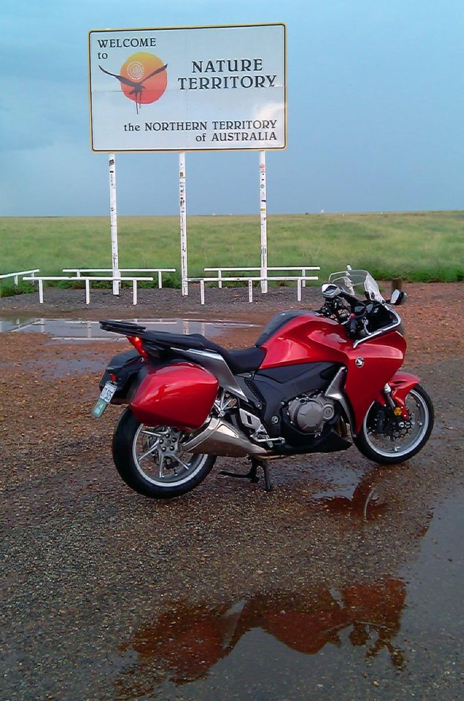 Riding Around Australia - Northern Territory