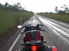 Riding Around Australia - Mixed conditions for much of the journey