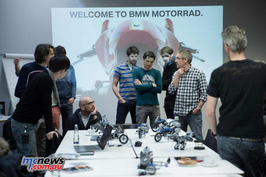 The BMW R 1200 GS Adventure Lego Technic kit can also be built into the BMW Hover Ride Design Concept