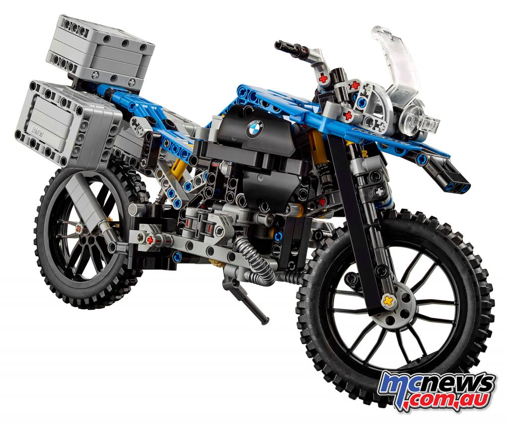 The BMW R 1200 GS Adventure Lego Technic kit