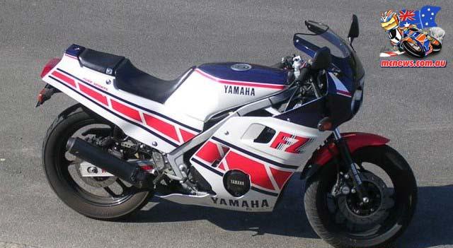 1986 Yamaha FZ600